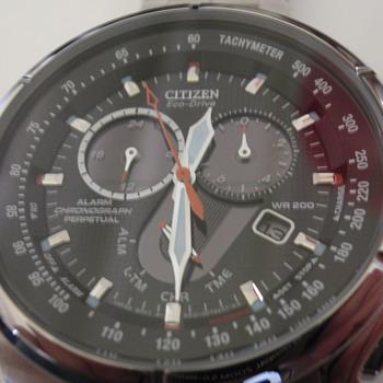 Citizen Ecodrive-chrono-perpetual BL5320-50E - Wristwatches