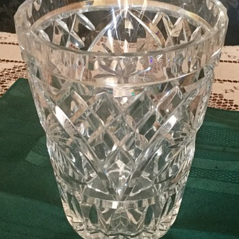 Maybe Waterford Crystal can you help - Glassware