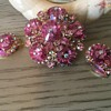 THINK PINK....D & E MARGARITA BROOCH!