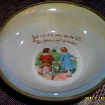 Jack and Jill Food Warmer - China and Dinnerware