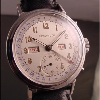 Vintage Tiffany Calendar Wristwatch - Wristwatches