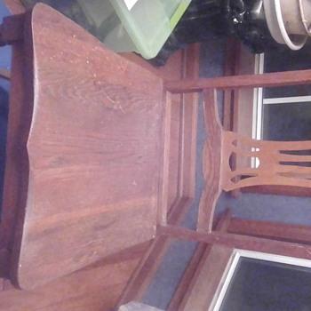 Found chair in antique/junk shop