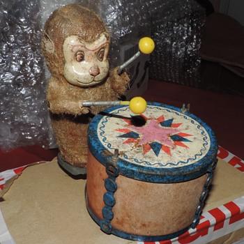An Interesting Old Monkey Drummer