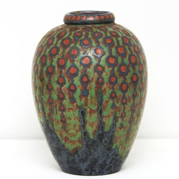 Large Revernay Vase (France), ca. 1900 - Pottery