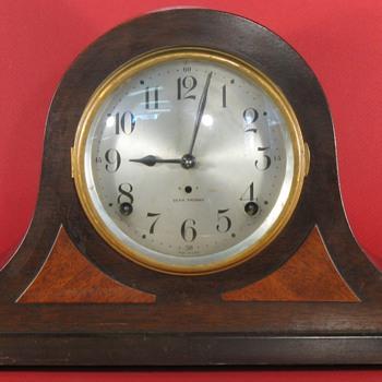 Seth Thomas Tambour Mantel Clock, Sentinel #10