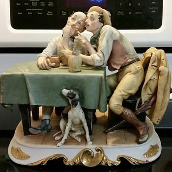 Antonio Barsato's Two Men With Dog