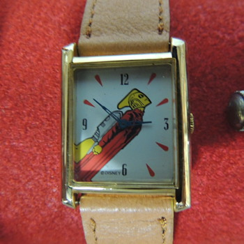 ROCKETEER WRIST WATCH - Wristwatches