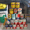 Old Oil Cans found!
