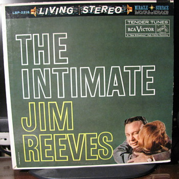 The Intimate Jim Reeves  Jim Reeves - Records