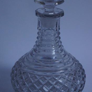 Minature Rodney Decanter - Art Glass