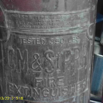 american lafrance  fire extinguisher