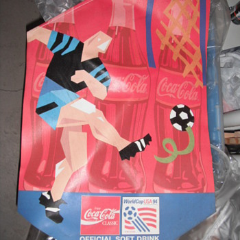 World Cup of Soccer Banner - Coca-Cola