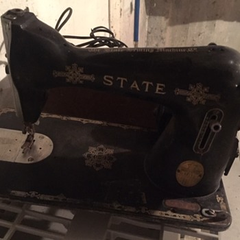 State Sewing Machine - Sewing