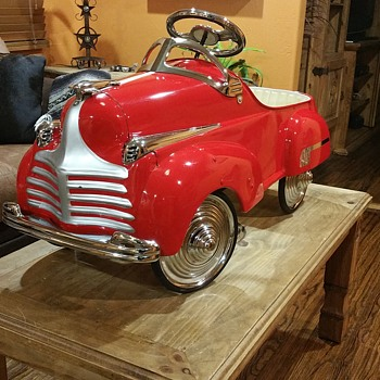 41 STEELCRAFT CHRYSLER PEDAL CAR - Toys