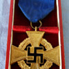 WWII German/Nazi 40 Year Service Medal