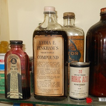 Lydia E. Pinkham's Vegetable Compound - Bottles