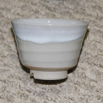Hagi ware cups - Asian
