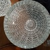 Massive crystal vases