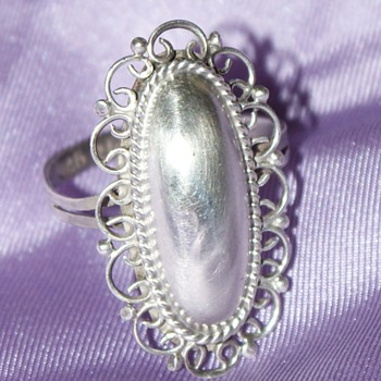 Mexican Vintage Ring - Fine Jewelry