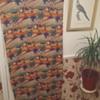 1950s Bark Cloth Fabric