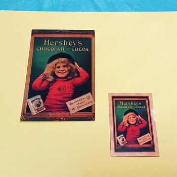 Hershey Postcard and Trade Card - Postcards