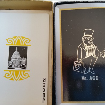 mr acc playing cards. any ideas on what these are? - Cards
