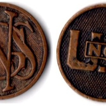 WWI Regular, National Guard and National Army Collar Disks