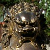 Buddhist Lion / Fu Dog - Gilded Bronze