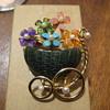 SWOBADA Basket of Flowers