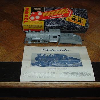 Old 0-6-0 Steam Engine - Model Trains