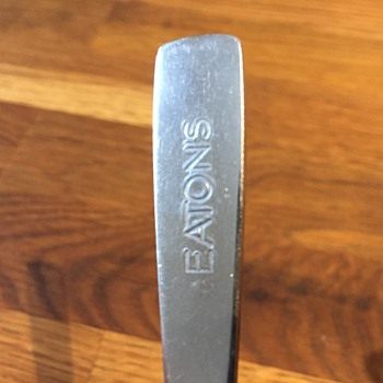 The T. EATON Co. Limited, Winnipeg Grill Room Restaurant Spoon