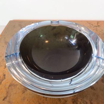 Strombergshyttan ashtray - Art Glass