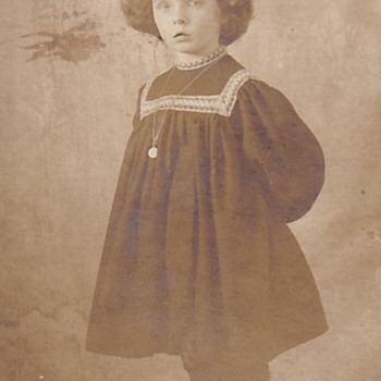 Partial Real Photo Postcard? 1900's - Postcards