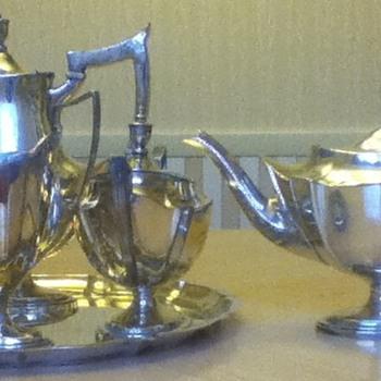 Gorham Silver Tea Set - Silver