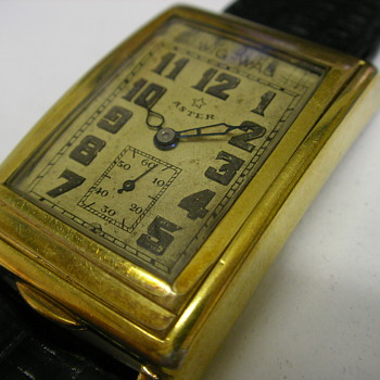 The Aster Wig Wag Automatic Wristwatch