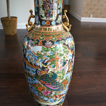 What Is This Large Oriental Palace Vase Collectors Weekly