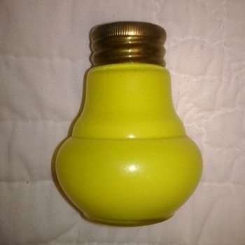Yellow Cased Shakers