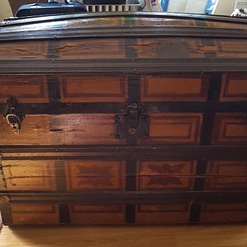 Vintage voyage trunk - Furniture