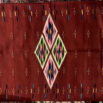 Another Saltillo Serape - Folk Art