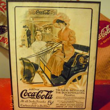 1906 & 1905 Periodical Coca-Cola Ads - Coca-Cola