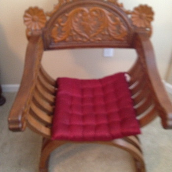 Vintage Chinese X Chairs