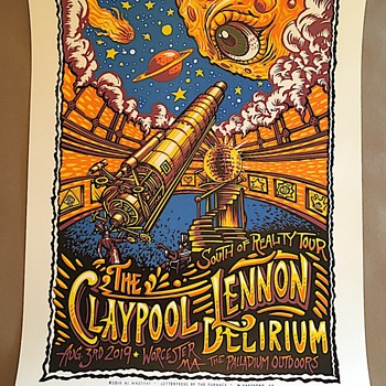 Claypool Lennon Delirium, by AJ Masthay, 2019 - Posters and Prints