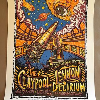 Claypool Lennon Delirium, by AJ Masthay, 2019 - Posters and Prints