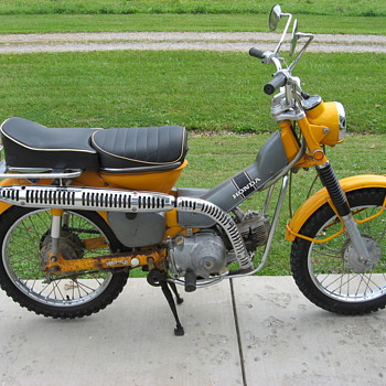 1971 Honda CT90 Trail 90 - Motorcycles