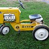 Atkins pedal tractor Saved this Jewel from the trash man today. Looks well kept sure my little girl rides it soon
