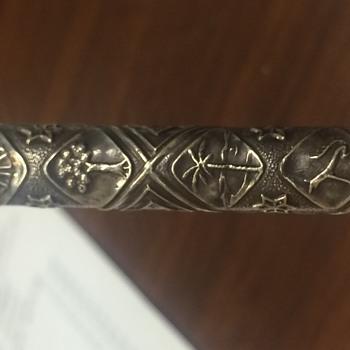 Sterling silver pen. Unknown.