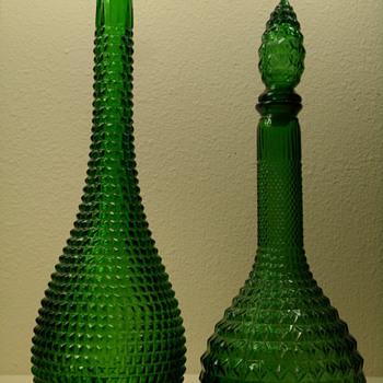 Empoli Decanter & Bottle - Bottles