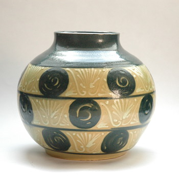 nice art deco elchinger vase-) - Art Deco