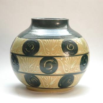 nice art deco elchinger vase-) - Art Deco