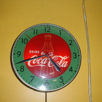 Coke Clock - Coca-Cola
